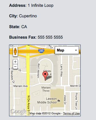 WordPress plugin for Google map listing