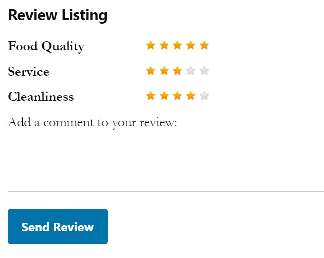 business directory listing reviews