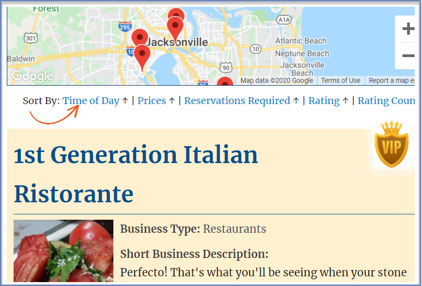 Business Directory Plugin ability to sort listings