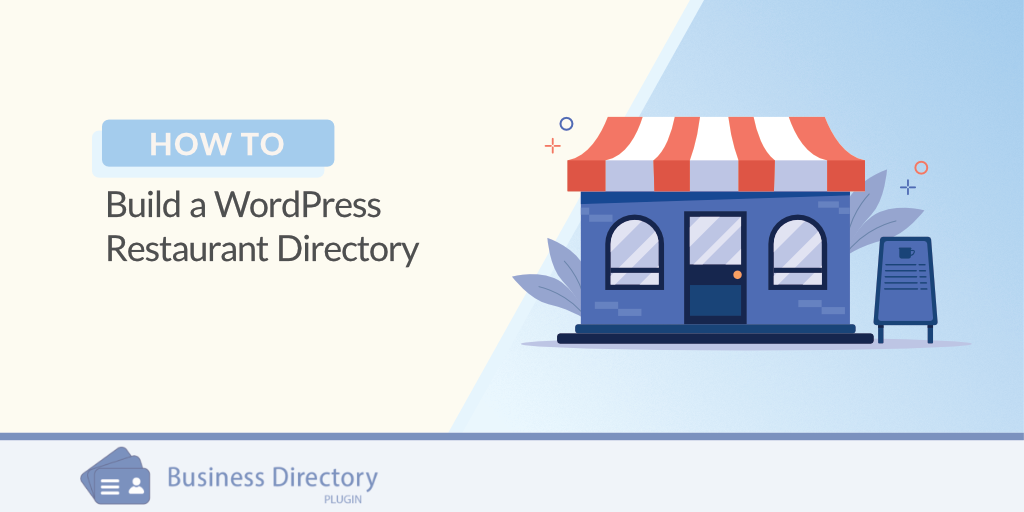 how to build a restaurant directory wordpress