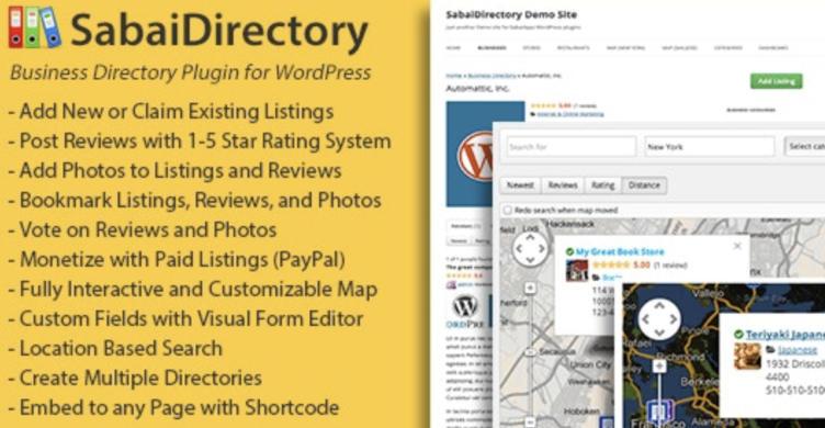 sabai directory plugin WordPress