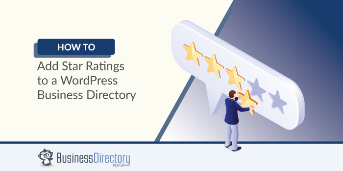 how to add star ratings to WordPress business directory