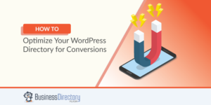 how to optimize WordPress directory site conversions