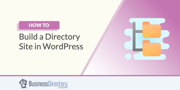 Build a directory website with WordPress