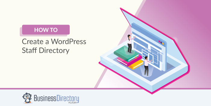 WordPress staff directory