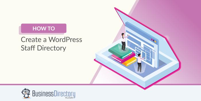 WordPress staff directory