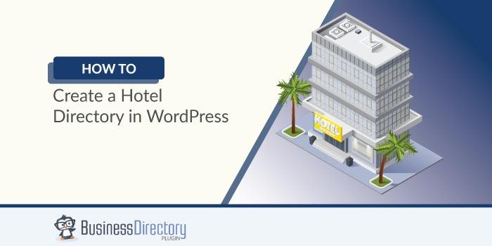 hotel directory in WordPress