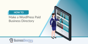 WordPress paid business directory