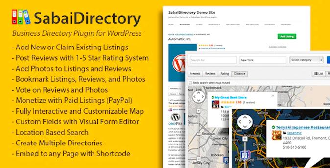 sabai directory wordpress directory plugin