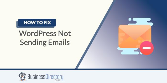 Fix WordPress not sending emails