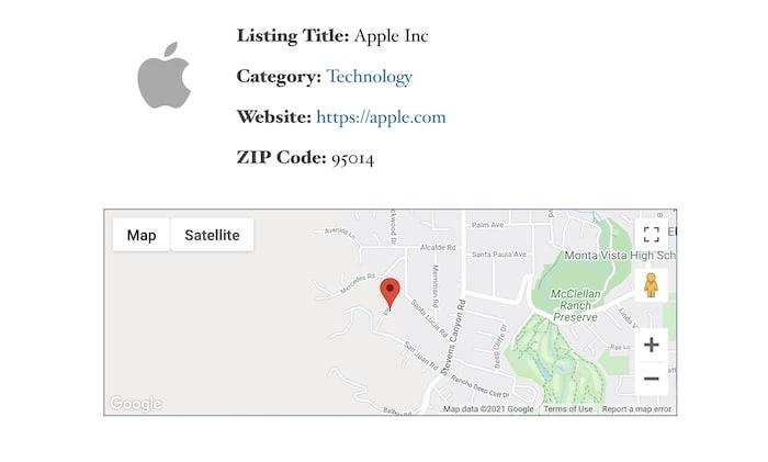 default map without google maps customization