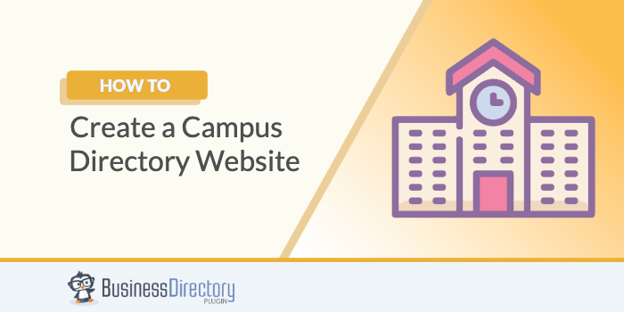 how to create campus directory