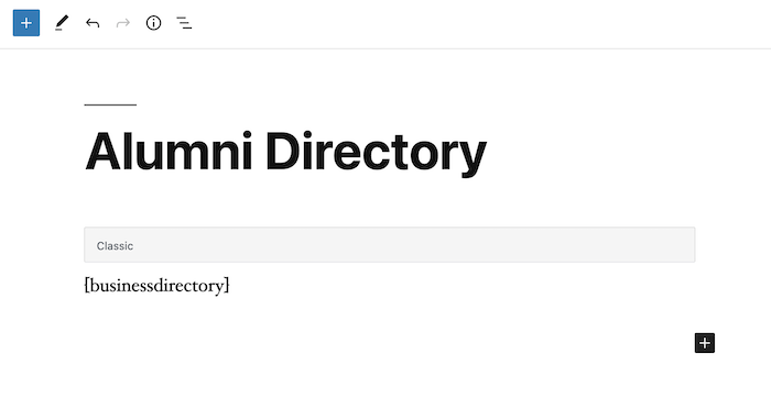 alumni directory home back-end