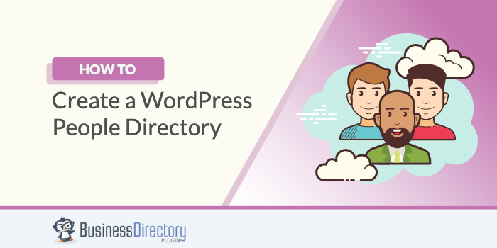 How to create a wordpress people directory