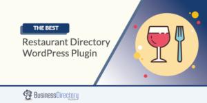 Restaurant Directory WordPress Plugin