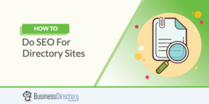 SEO for directory websites