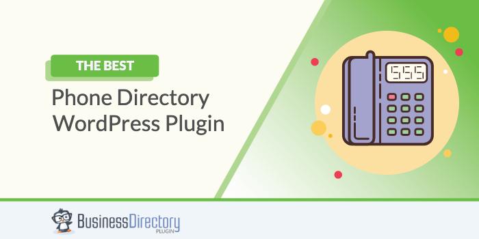 WordPress Phone Directory Plugin