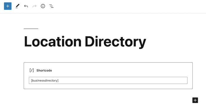 location directory main archive back