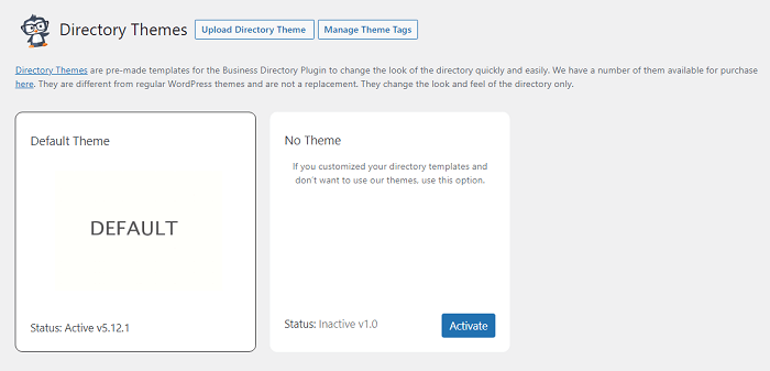 Premium directory theme options for the Business Directory Plugin, which can help you build a more advanced online school directory software
