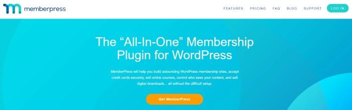 MemberPress is the best WordPress plugin for setting up membership sites.